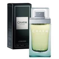 Charm eau de toilette 100ml Lonkoom Perfume Masculino Original -