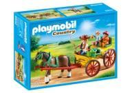 Charrete com Cavalo Playmobil 6932 -