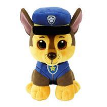 Chase pelúcia patrulha canina ty - dtc 4041 - Beanie boos