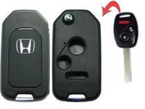 Chave Canivete Honda New CIVIC / CITY / CRV / FIT - 2 Botões + Panico -