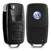 Chave Canivete Vw + Placa Positron + Lamina Virgem Gol G3 G4 - Volkswagen vw