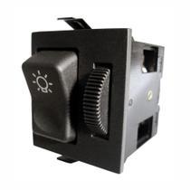 Chave Comutadora de Luz com Dimmer Mercedes-Benz 6965457014 - 24V - DNI 2100 -