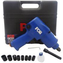 Chave de Impacto Pneumática 1/2 POL 59 Kgfm c/ Maleta e Kit Soquetes Pro-150K LDR2 -