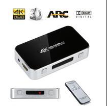 Chave Seletora Hub Switch Hdmi 4 Portas 4k Arc saida Audio - HDMatters