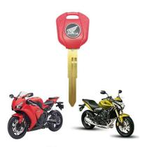Chave Virgem Honda Cbr Hornet E CB500x CBR250 750 CB1000 Ver -