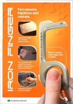 Chaveiro Anti Contato Iron Finger Antibacteriano E Antiviral -