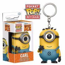 Chaveiro Carl - Pocket Pop Funko - Minions 3 -