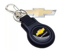 Chaveiro Chevrolet  Emborrachado Com Mosquetão - Bendito Chaveiro