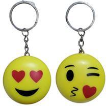 Chaveiro Emoji Com Luz 2und - Nfranca
