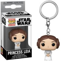 Chaveiro Funko Pocket Pop! Keychain Star Wars Princesa Leia -