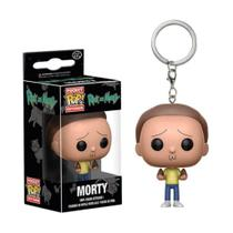 Chaveiro Funko Pocket Pop Morty - Rick and Morty - Funko pop