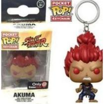 Chaveiro Funko Pop Street Fighter Akuma Exclusivo GameStop -
