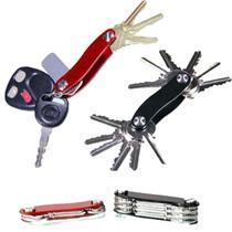 Chaveiro Key Smart Organizador De Chaves Preto Ou Vermelho - Box7