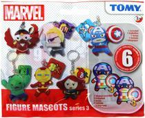 Chaveiro Marvel Série 3 Figura Surpresa Tomy -