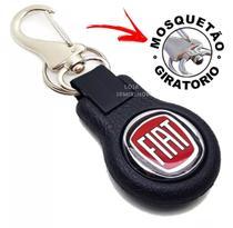 Chaveiro Mosquetão Emborrachado Carro Fiat 1 linha luxo - SPMIX SHOP -