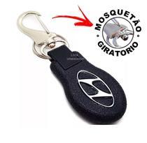 Chaveiro Mosquetão Emborrachado Carro Hyundai 1 linha luxo - SPMIX SHOP -