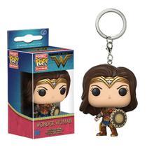 Chaveiro Mulher Maravilha Funko Pop Pocket Keychain Wonder Woman -