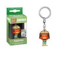Chaveiro Pocket Funko Pop Fortnite Fishstick Peixoto -