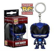 Chaveiro Pocket POP! Funko Power Rangers - Blue Ranger -