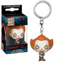 Chaveiro Pocket Pop - Pennywise (Beaver Hat) - IT - Funko Pop