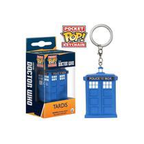 Chaveiro Tardis - Funko Pop Pocket Doctor Who - Aliança Geek