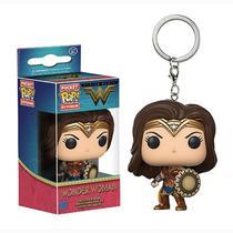 Chaveiro Wonder Woman - Funko Pop Keychain - Aliança Geek
