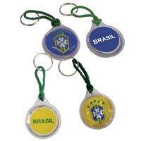 71faa9cec Chaveiros Do Brasil Redondo Curto C Gel Sortido Pct.C 12 Enjeplastic