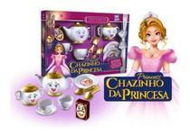 Chazinho Da Princesa Kit De Chá Infantil 9 Peças - Zuca Toys