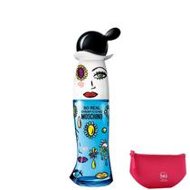 Cheap and Chic So Real Moschino Eau de Toilette Perfume Feminino 30ml+Beleza na Web Pink Nécessaire -