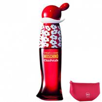 Cheap  Chic Chic Petals Moschino Eau de Toilette - Perfume Feminino 100ml+Beleza Pink Nécessaire -