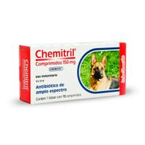 Chemitril 150 mg Antibiótico Chemitec 10 comprimidos -