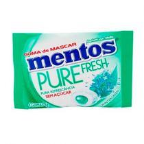Chiclete Mentos Pure Fresh Sem Açúcar 4 Unidades 6g -