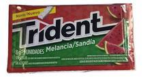 Chiclete Trident Melancia 8gr C/21 - Adams -