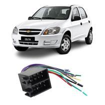 Chicote Chevrolet Celta 2000 a 2015 Adaptador Rádio DVD CD Multimídia - Ludovico