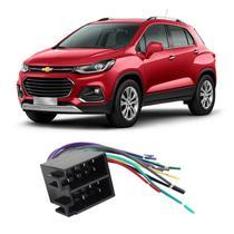 Chicote Chevrolet Tracker 2018 a 2020 Adaptador Rádio DVD CD Multimídia - Ludovico