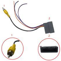 Chicote de Ligação do Som e Antena com Entrada USB para a Linha Honda Novum -