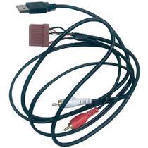 Chicote de Ligação do Som e Antena com Entrada USB/RCA para a Linha Hyundai até 2017 Novum -