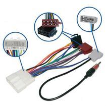 Chicote de Ligação e Adaptador de Antena Novum Dedicado Para Linha Nissan -