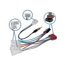 Chicote de Ligação e Adaptador de Antena Novum Para Linha Toyota -