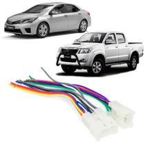 Chicote de Ligação ISO Toyota Corolla e Hilux TA02B/02 - Expex -
