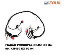 Chicote Fiação Principal Honda Cb 450 Dx 84/90 92-94 Zouil -