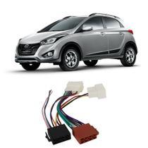 Chicote Hyundai HB20x 2012 a 2020 Adaptador Rádio DVD CD Multimídia - Ludovico