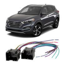 Chicote Hyundai IX35 2013 a 2020 Adaptador Rádio DVD CD Multimídia - Ludovico