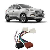 Chicote Hyundai Sonata 2011 a 2014 Adaptador Rádio DVD CD Multimídia - Ludovico