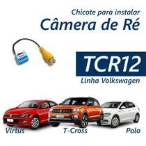Chicote Instalar Câmera Ré Volkswagen Polo Virtus e T-Cross - Tromot
