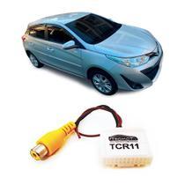 Chicote para Instalar Câmera de Ré no Toyota Yaris - Tromot