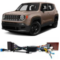 Chicote Plug and Play Jeep Renegade 2016 a 2020 Para Multimidia Android Faaftech -