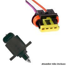 Chicote Plug Atuador De Marcha Lenta Gol 1.6/1.8/2.0 96/02 - Rainha Da Sete