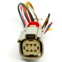 Chicote Plug Conector 6 Vias Injeção Eletrônica Linha Ford - TC1898 - Tc Chicotes