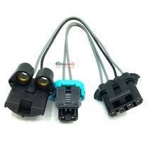 Chicote Plug Conector Bomba De Combustível Flex Bosch ETE5077 - Rainha Da Sete